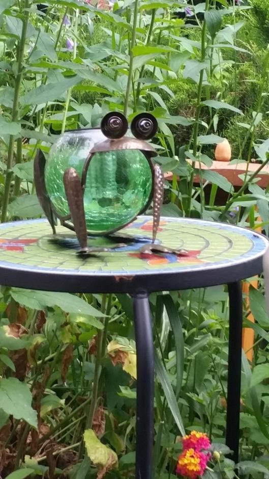 Solar Frog Lantern